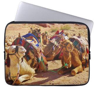 Smiling Camels Computer Sleeve