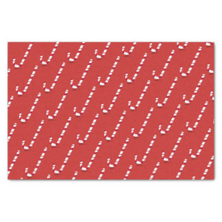 Smiling Candy Cane Tissue Paper