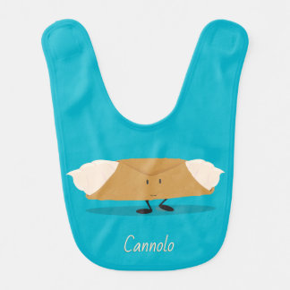 Smiling cannolo   Baby Bib