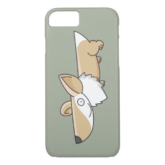 Smiling Cartoon Corgi iPhone 7 Case