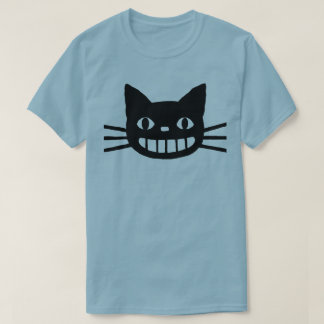 Smiling Cat with Long Whiskers T-Shirt