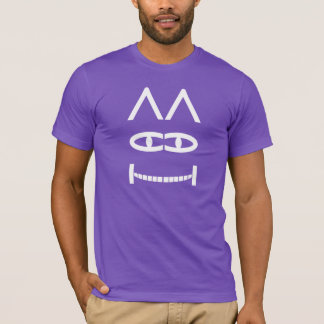 Smiling Cheshire Cat Puzzle T-Shirt