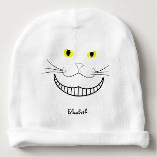 Smiling Cheshire Transparent Cat Beanie Baby Beanie
