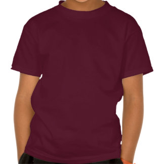 Smiling chocolate frosted cupcake tee shirts
