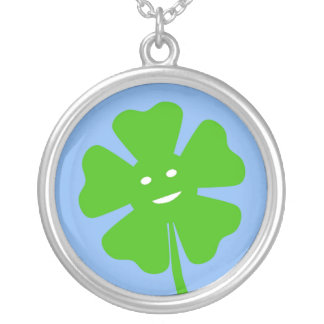 Smiling Clover Necklace