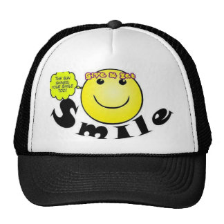 Smiling Concept Hat