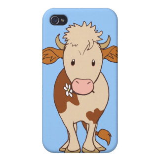 Smiling cow iPhone 4/4S cover