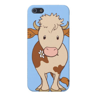 Smiling cow iPhone 5 cover
