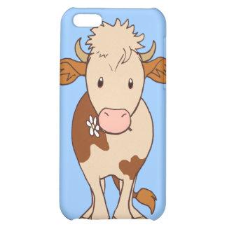 Smiling cow iPhone 5C case