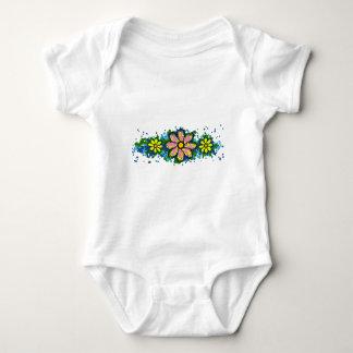 Smiling daisies baby bodysuit