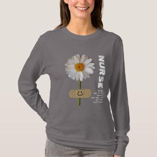 Smiling Daisy Nurse  Gift Sweatshirts
