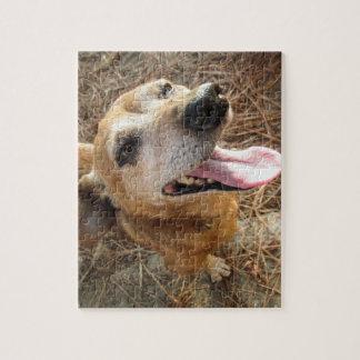 Smiling Dog - Jigsaw Puzzle