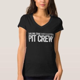 Smiling Dog Pit Crew T-Shirt