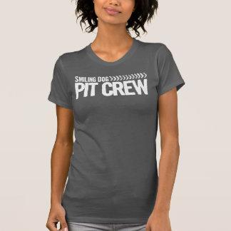 Smiling Dog Pit Crew Tshirts