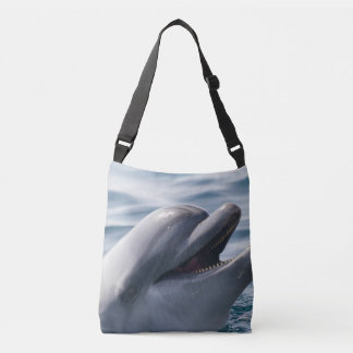 Smiling Dolphin Crossbody Bag