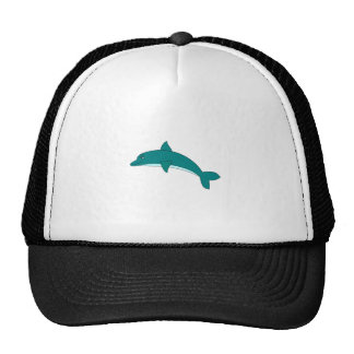 Smiling Dolphin Mesh Hat