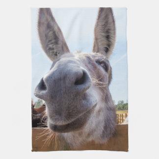 Smiling Donkey Kitchen Towel