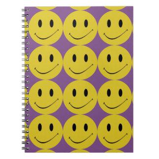 Smiling emoji emoticon Smile face Notebook Journal