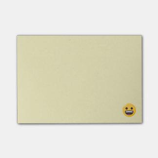 Smiling Emoji Face Post-it Notes