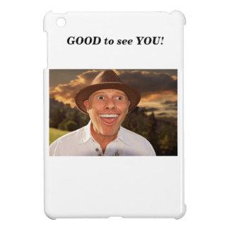 Smiling face iPad mini case