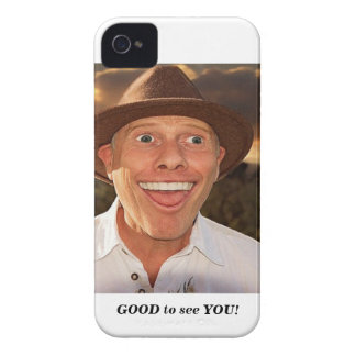Smiling face iPhone 4 cover