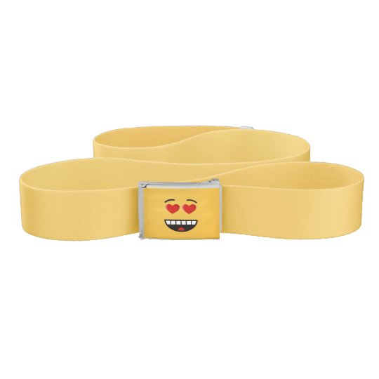 Smiling Face with Heart-Shaped Eyes Belt