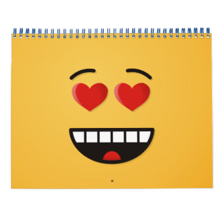 Smiling Face with Heart-Shaped Eyes Calendars