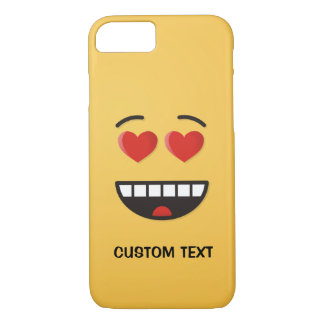 Smiling Face with Heart-Shaped Eyes iPhone 8/7 Case