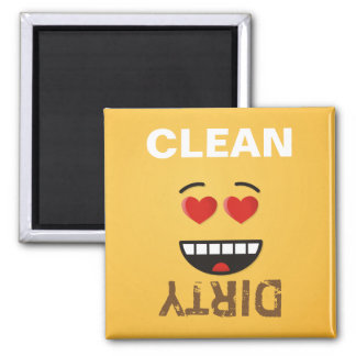 Smiling Face with Heart-Shaped Eyes Magnet