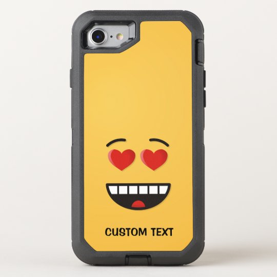 Smiling Face with Heart-Shaped Eyes OtterBox Defender iPhone 8/7 Case