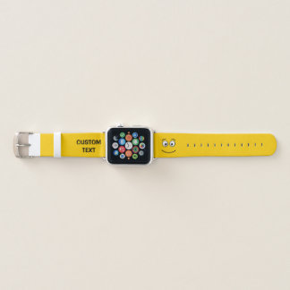 Smiling Face with Open Eyes Apple Watch Band