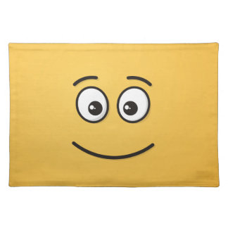 Smiling Face with Open Eyes Placemat