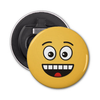 Smiling Face with Open Mouth Bottle Opener