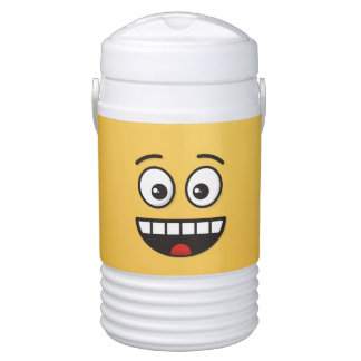 Smiling Face with Open Mouth Drinks Cooler