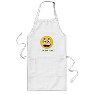 Smiling Face with Open Mouth Long Apron