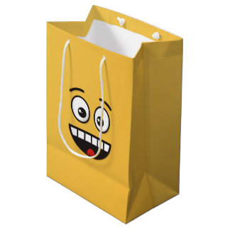 Smiling Face with Open Mouth Medium Gift Bag