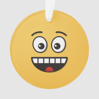 Smiling Face with Open Mouth Ornament