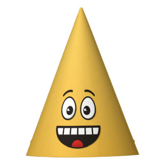 Smiling Face with Open Mouth Party Hat