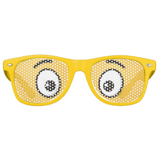Smiling Face with Open Mouth Retro Sunglasses