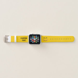Smiling Face with Smiling Eyes Apple Watch Band