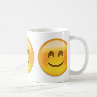 Smiling Face With Smiling Eyes Emoji Coffee Mug