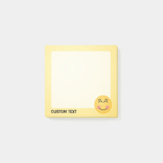 Smiling Face with Smiling Eyes Post-it Notes