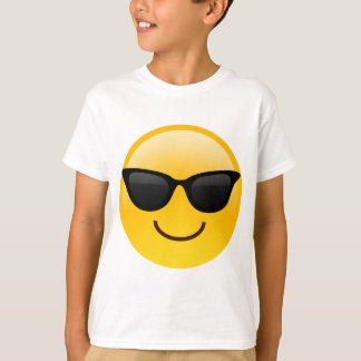 Smiling Face With Sunglasses Cool Emoji Tees