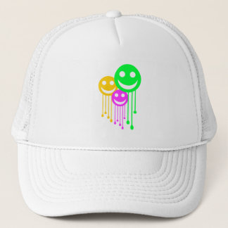 Smiling faces trucker hat