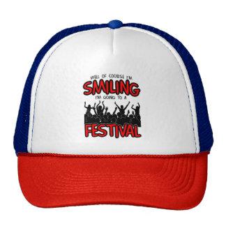 SMILING FESTIVAL (blk) Cap