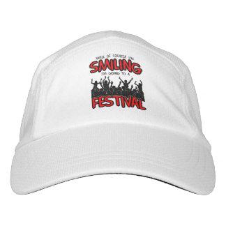 SMILING FESTIVAL (blk) Hat