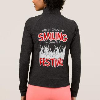 SMILING FESTIVAL (blk) Jacket