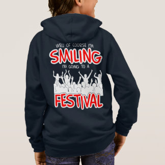 SMILING FESTIVAL (wht) Hoodie