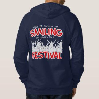 SMILING FESTIVAL (wht) Hoodie