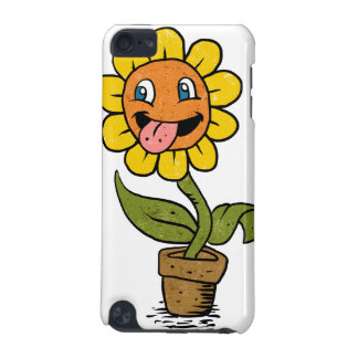 smiling flower cartoon iPod touch 5G cover